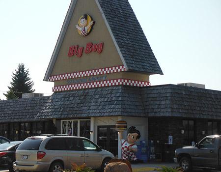 Big Boy Restaurant Brochure Display